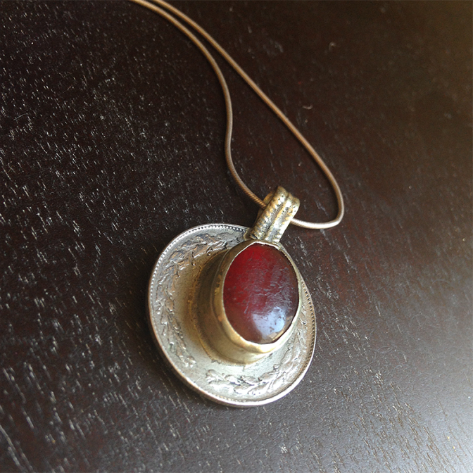 Wanda's Red Pendant available on Etsy